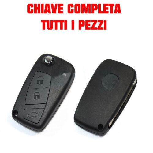 3 CHIAVE TASTI COMPATIBILE CON FIAT TELECOMANDO PUNTO PANDA DUCATO FIORINO
