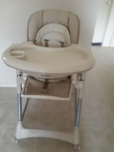 Swell Details About Steelcraft Messina High Chair Caraccident5 Cool Chair Designs And Ideas Caraccident5Info
