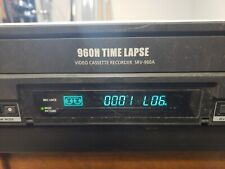 Samsung 960h Time Lapse Video Cassette Recorder Srv 960a