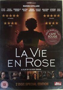 La-Vie-En-Rose-DVD-2007-2-Discs-R2-Marion-Cotillard-BRAND-NEW-amp-SEALED