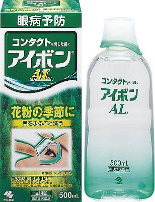 Japanese Popular Eye Wash EYEBON AL 500ml Kobayashi-seiyaku Japan F/S