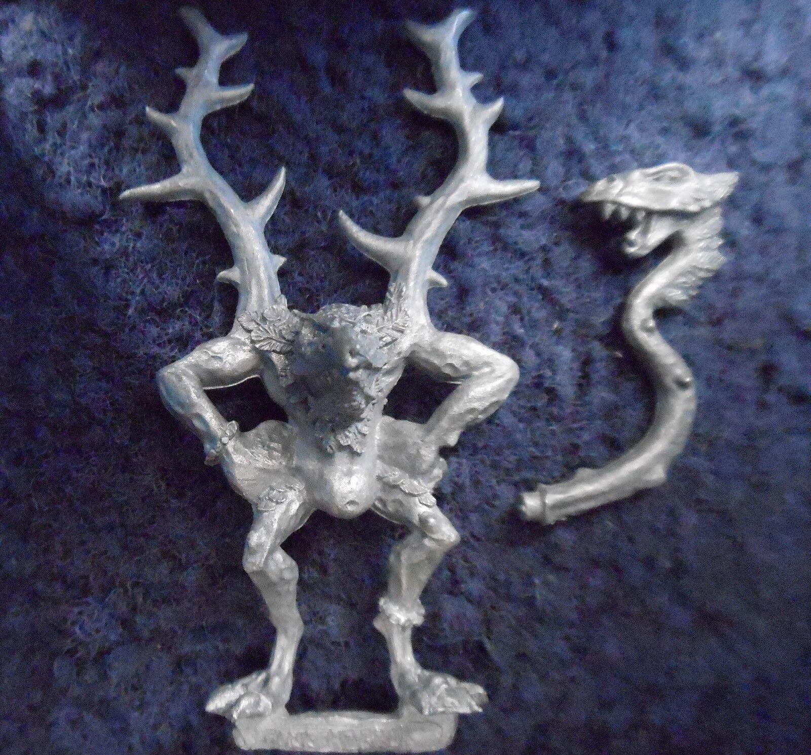 1997 Chaos Pink Horror Command Standard Bearer Citadel Warhammer Daemon Banner