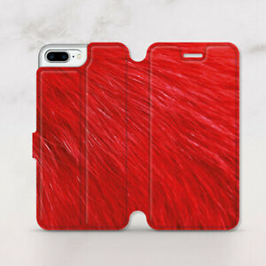 pretty nice cc80b 815e5 Details about Animal Print iPhone X Wallet Case Cute Red iPhone 7 8 Plus  Cover iPhone 6 6s SE