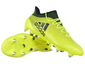 Details zu adidas X 17.1 SG Fußballschuhe Stollen Schuhe für Naturrasen gelbschwarz