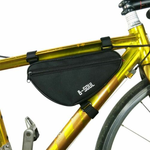 MTB Bike Bicycle Road Front Tube Triangle Frame Storage Bag Pack Pouch UK