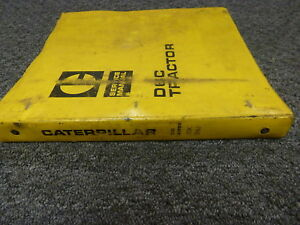 caterpillar cat d6c crawler tractor dozer shop service repair manual rh ebay com Caterpillar D6C Radiator Gaskets Cat D6C 10K Dozer