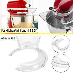 4-5-5QT-Bowl-Pouring-Shield-Tilt-Head-For-KitchenAid-Stand-Mixer-W10616906
