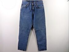 REPLAY 901 MENS REGULAR TAPERED LEG JEANS BLUE SIZE w34 L35 GOOD/VGC SKU M414