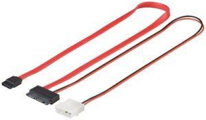 SATA-micro-cable-1-5-GBits-3-GBits-2in1-SATA-L-Type-male-Micro-SATA-male