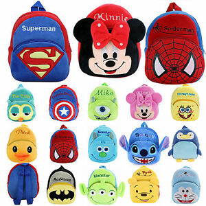 Lovely Superheroes Backpack Schoolbag Best Gift For Boys Small