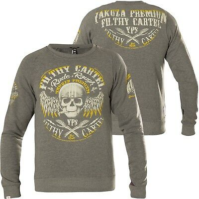 YAKUZA PREMIUM Sweatshirt YPP 2624 Grau Sweatshirts   eBay