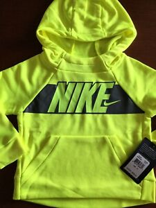 NWT BOYS NIKE ~ HEATHERED BLACK LIGHTWEIGHT PULLOVER HOODIE ~ SIZE 7 ~ MSRP $28
