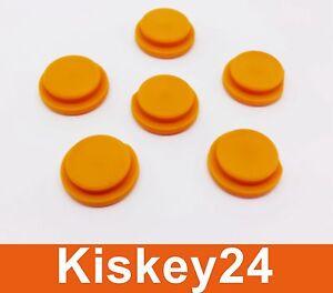 Autoelektronik, Gps & Sicherheitstechnik 2x Schlüssel Taste Druckknopf Gummi Gelb Für Smart Fortwo Mc01 450 Fernbedienung