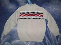 Gymboree ski Cabin Pattern Sweater Size S(5-6)