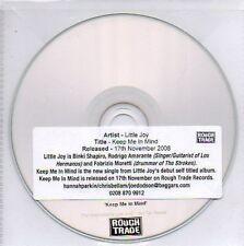 (N246) Little Joy, Keep Me In Mind - DJ CD