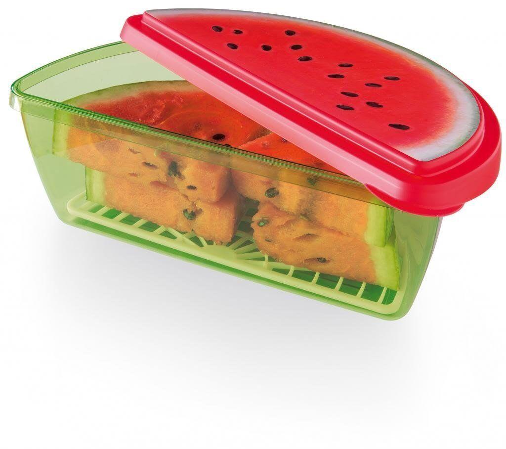 Joie MSC Fresh Pod Food Storage Pots Pepper Red Fridge Box Lid Kitchen Home Gift