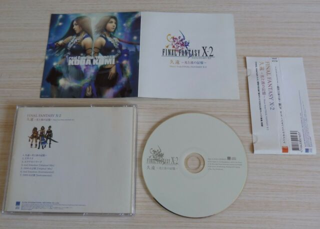 RARE CD ALBUM OST ORIGINAL SOUNDTRACK FINAL FANTASY X - 2 7 TITRES