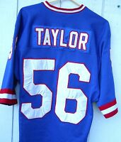 NEW YORK GIANTS LAWRENCE TAYLOR # 56 FOOTBALL JERSEY SIZE MEN'S LARGE