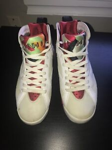 """the latest 82bf1 89460 Details about Nike Air Jordan Retro 7 """"Hare""""- Size 9.5 Mens (No Box)"""