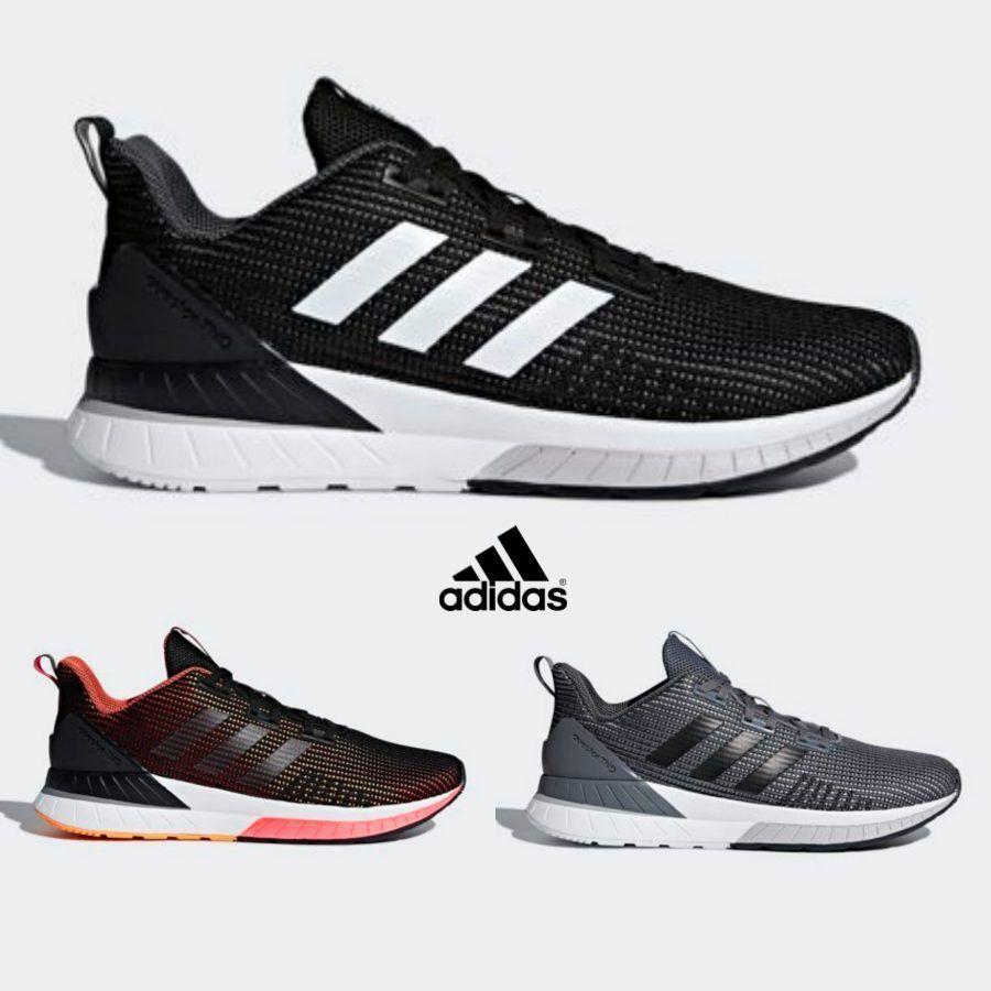 Adidas Questar TND Zapatos ejecutar Zapatos Runner Zapatos TND Correr Negro Gris Naranja 8ee922
