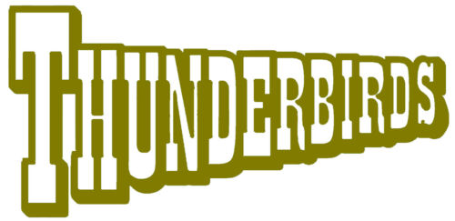 Thunderbirds International Rescue Vinyl Decal Sticker Car Van Laptop Tablet Wall