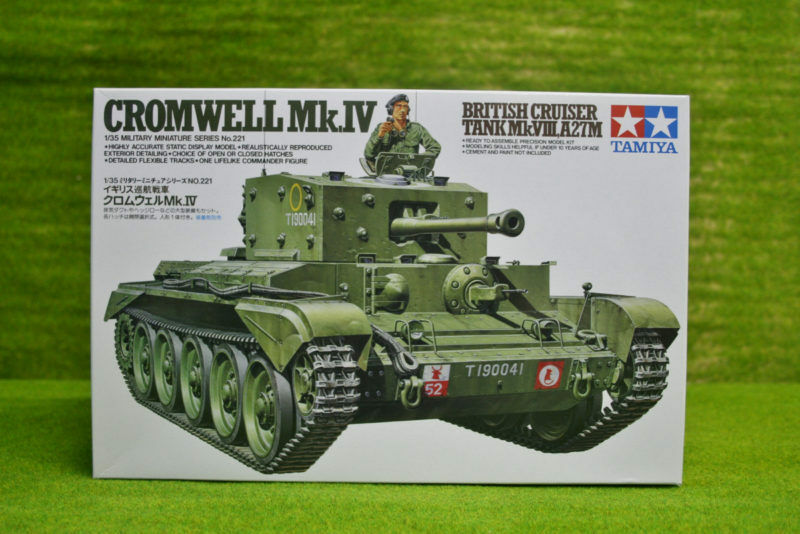 Tamiya BRITISH CROMWELL Mk IV Cruiser Tank 1 35 Scale Kit 35221