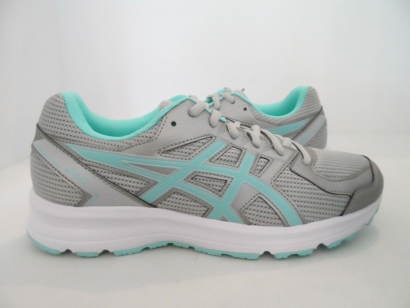 ASICS Women's Jolt Running shoes Glacier Grey Aqua Splash White Size 8.5 D