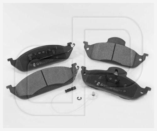 Bremsbeläge Bremsklötze MERCEDES M-Klasse W163 vorneVorderachse