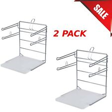2 Pack T Shirt Shopping Bag Rack Stand Store Holder Dispenser Grocery Bagging