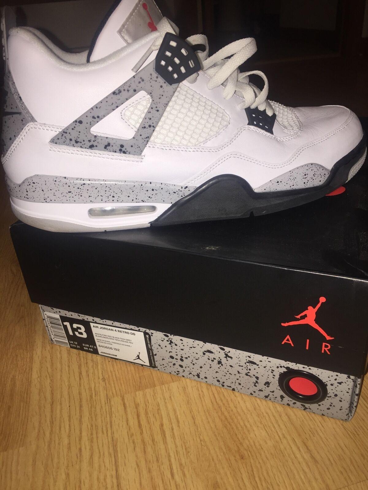 Jordan IV Größe 13 authenic brand new with box