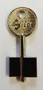 Tresorschlüssel Safe Schließfachschlüssel Keyblank Silca 6CAW4 Mietfachschlüssel
