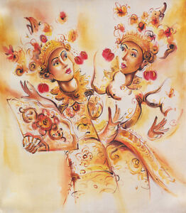 Hand-painting-Abstract-Dancers-276