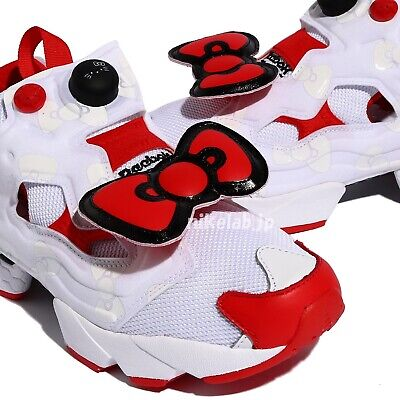 Reebok Sanrio Hello Kitty Insta Pump Fury EH2798 Original collaboration Sneaker Japon | eBay