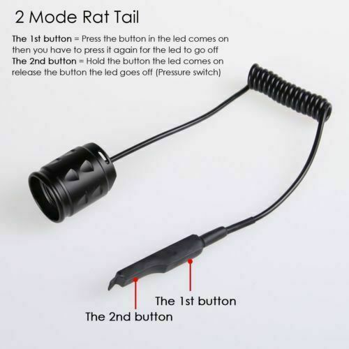 UniqueFire Remote Pressure Tactical Switch Pad for Torch UF-T20 ON//OFF