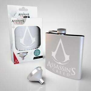 Assassin's Creed Flachmann Logo - Gaming Schnapsflasche Schnaps 200 ml - NEU OVP