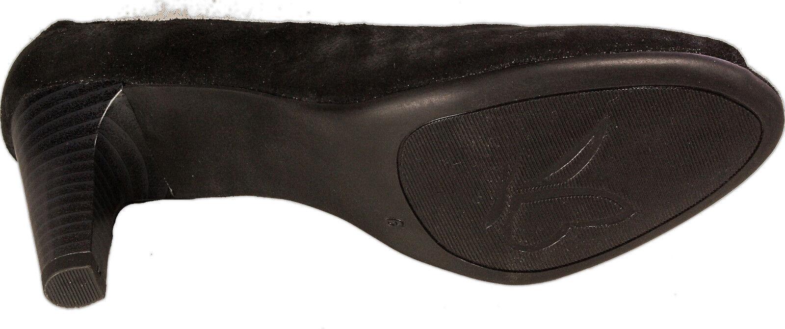 CAPRICE schwarz Schuhe Pumps Peep toe schwarz CAPRICE echt Leder - laufen auf Luft - NEU 7cefd4