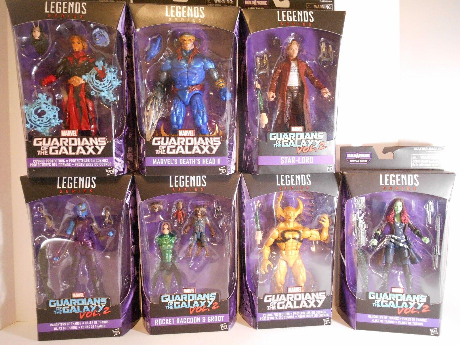 Marvel Legends Guardians of the Galaxy Vol. 2 BAF Mantis Full Set
