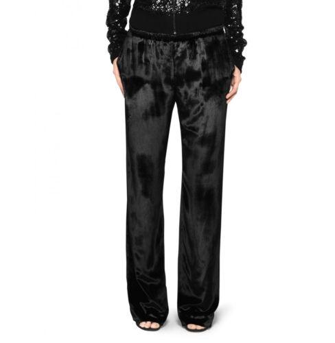 Pantaloni Mellon Velluto Tamara Di Nero Nuovo Tuta qHwxItxd