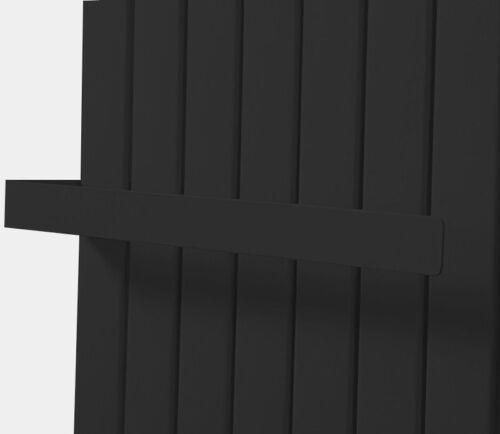 Serviette Barre Plat Design Serviette Support Pour Panneau Radiateur Weis//anthracite
