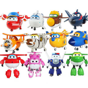 12pcs-Animation-Super-Wings-Airplane-Transformable-Robot-Action-Figures-Toy-Gift