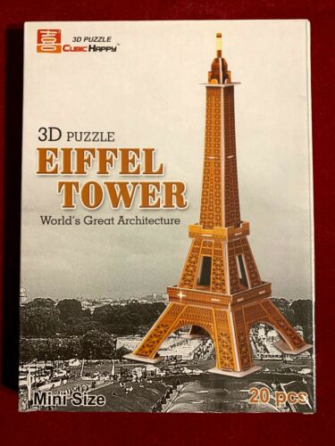 Cubic Happy 3D Puzzles-architecture buildings from Around the World