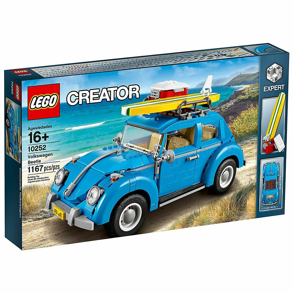 Nouveau LEGO Creator VOLKSWAGEN  BEETLE Set 10252  1000+ PIECES  confortable