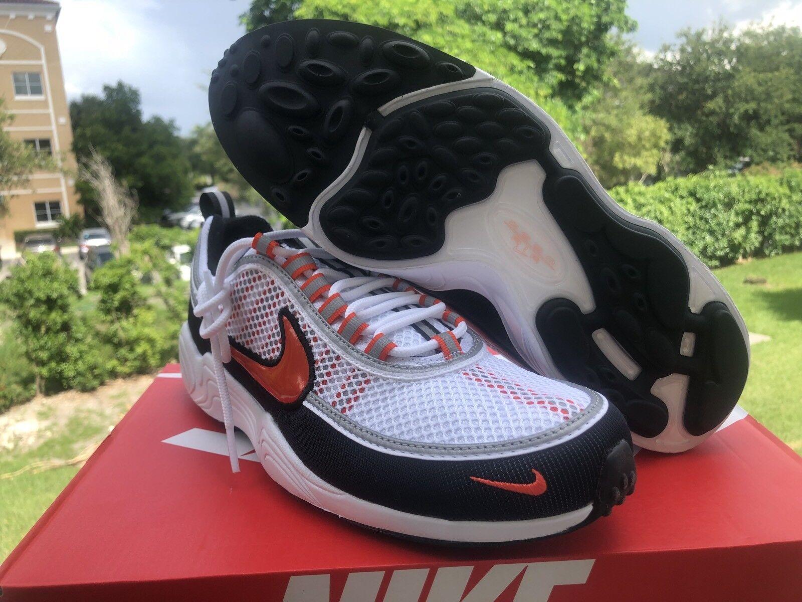 best-selling model of the brand Nike Air Zoom Spiridon '16 White Team Orange Black Comfortable