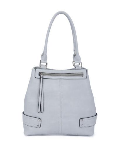 New Women 2 Compartments Tote Hobo Shopper Bag Multipocket Large Handle Handbag
