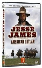 JESSE JAMES: AMERICAN OUTLAW (HISTORY CHANNEL) NEW AND SEALED