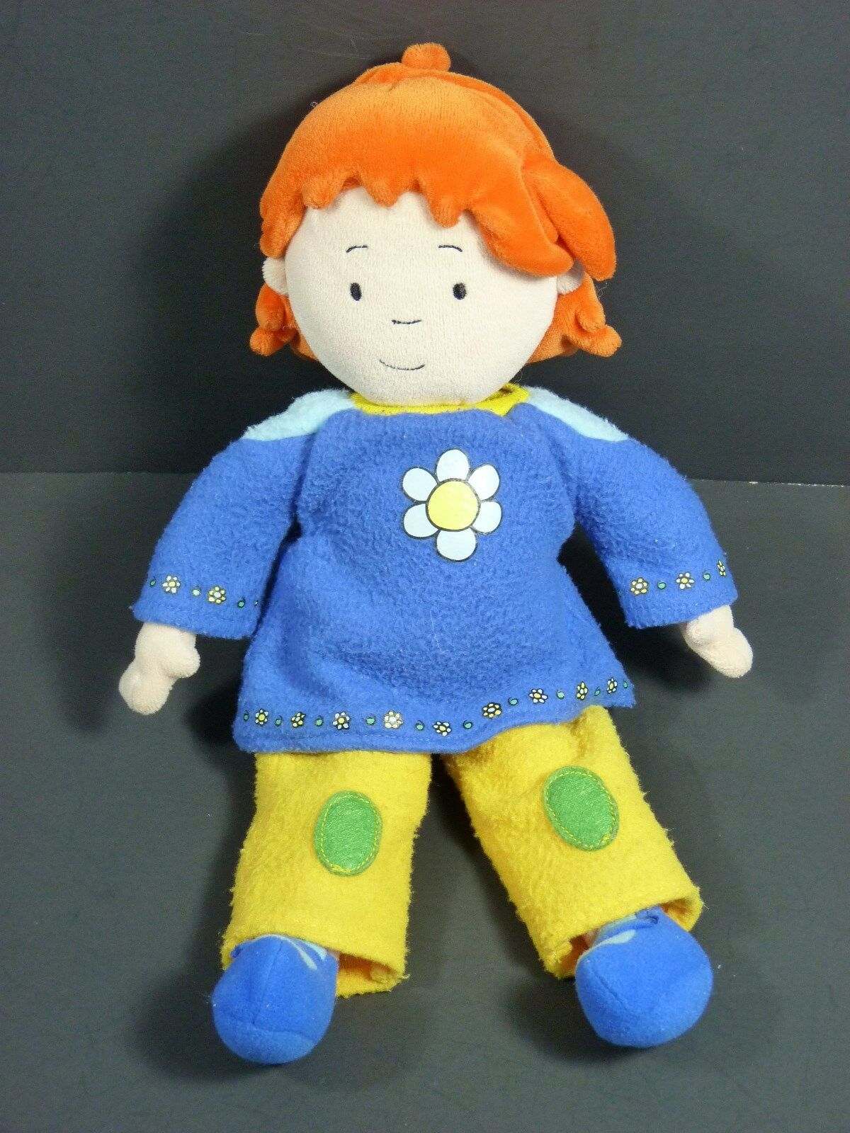 Rosie 12'' Stuffed Plush Doll (Caillou Sister) Sister) Sister) 2002 5f4682