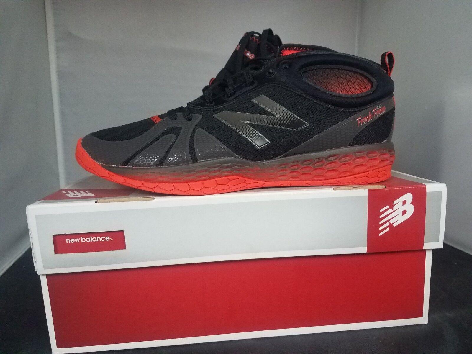Zapatos de entrenamiento New Balance MX80GR Hombre Negro Naranja-Nuevo En Caja