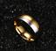 Anello-Fede-Fedina-Anello-Anelli-Fidanzamento-Nuziali-Cristallo-Oro-Acciaio-INOX miniatura 3