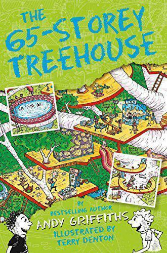 7+ Story Book - Treehouse Book: THE 65 STOREY TREEHOUSE by Andy Griffiths - NEW