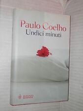 UNDICI MINUTI Paulo Coelho Bompiani 2003 libro romanzo narrativa racconto storia